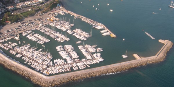 harbour from above