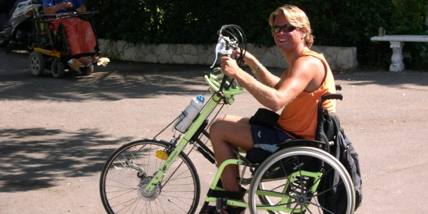 wheelchair bike
